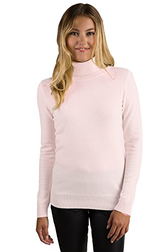 Pink 100% Cashmere Sweater - 7