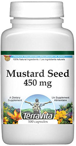 Mustard Seed - 450 mg (100 Capsules, ZIN: 511652)