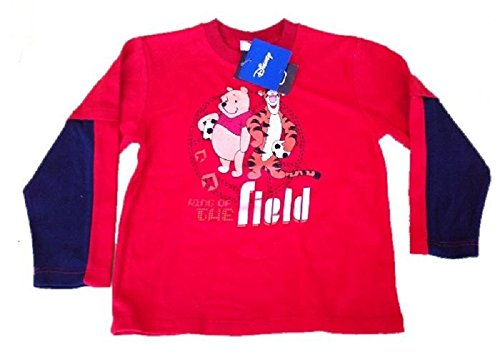 T-shirt maglia manica lunga Disney Winnie the Pooh e Tigro *13661