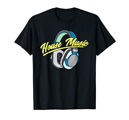 House Music DJ Turntable Headphones Shirt