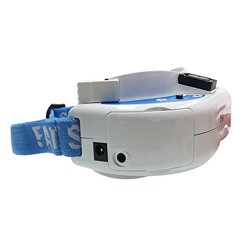 41QYrVLpk9L - 2018 Newest Version! Fat Shark FSV1063-04 Dominator V3 Headset FPV Video Goggles with 5.8G OLED Reciever And Antenna by ARRIS