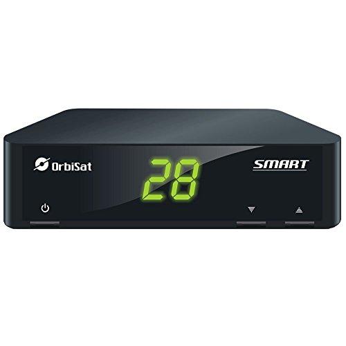 Receptor SMART Orbisat com Controle Inteligente para TV