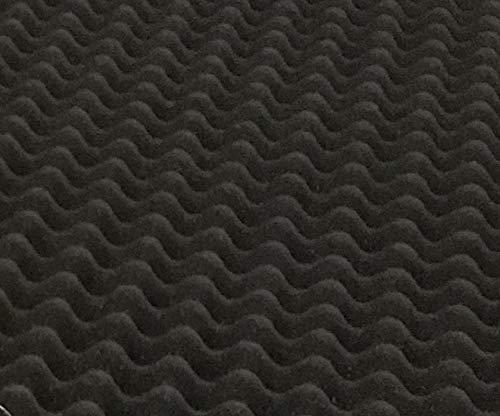 BookishBunny Self Adhesive Acoustic Foam Egg Crate Panel Studio Foam Wall Panel (40'' x 80'') by Bookishbunny (Image #3)