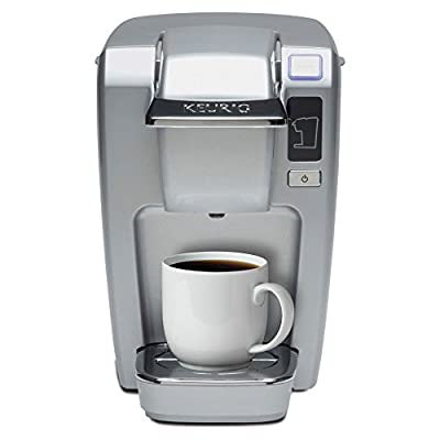 Keurig K15 Coffee Brewer - Platinum from M Block and Sons Inc