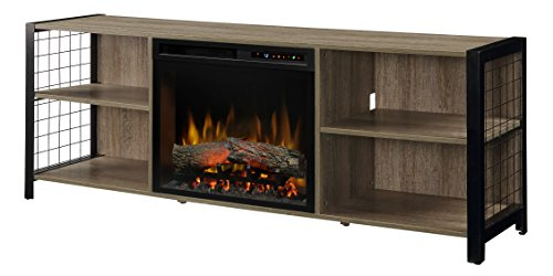 Cheap DIMPLEX Asher Media Console Electric Fireplace with Logs Black Friday & Cyber Monday 2019