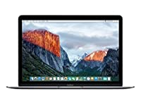 "Apple MacBook (Early 2016) 12"" Notebook, Retina Display, Intel Core M5-6Y54 Dual-Core, 512GB PCI-E SSD, 8GB, 802.11ac, Bluetooth, MacOS 11.4 El Capitan - Space Gray"