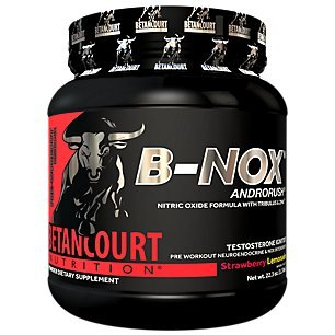 Betancourt Nutrition – B-NOX Androrush, Promotes A Better Pre-Workout By Supporting The Natural Testosterone Response To Exercise, Strawberry Lemonade, 22.3 oz (35 Servings)