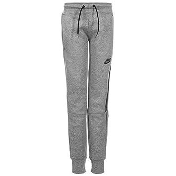 Nike 807565-091 Pantalon Fille, Carbon Heather Noir, FR   M (Taille ... d958ff09d0cc