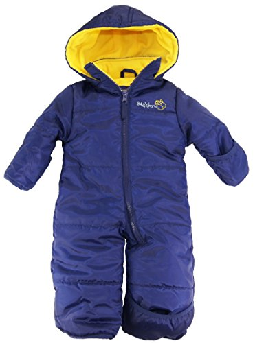 76b5cce93 iXtreme Baby Boys Newborn One Piece Solid Snowsuit, Navy, 6/9M - Buy Online  in UAE. | Apparel Products in the UAE - See Prices, Reviews and Free  Delivery in ...