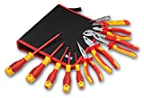 1000v insulated tool sets - BOOHER 0200102 11-Piece 1000V Insulated Tools Set