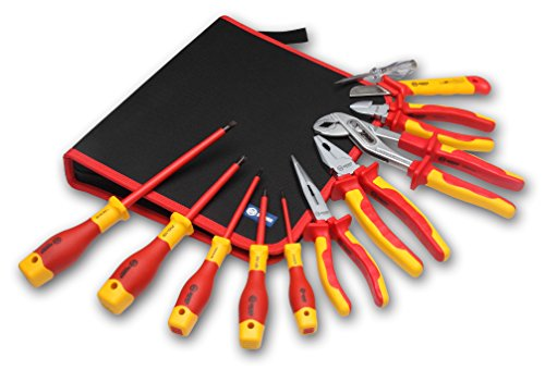 BOOHER 0200102 11-Piece 1000V Insulated Tools -