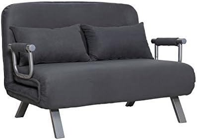 HOMCOM Small Sofa Couch Futon