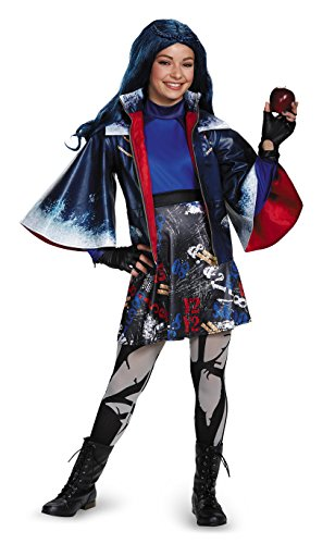 Disguise Evie Prestige Descendants Disney Costume, X-Large/14-16 -