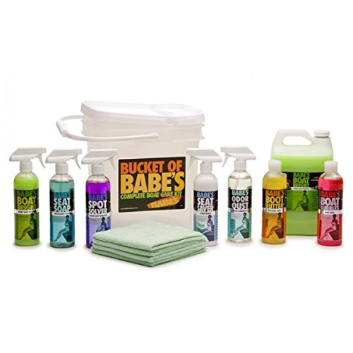 BABE'S Boat Care Products BB7501 Bucket of Complete Kit BABE' S Boat Care Products