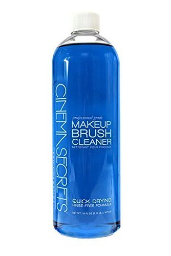 CINEMA SECRETS Professional Makeup Brush Cleaner, 16 Fl Oz (The Best Professional Makeup Brushes)