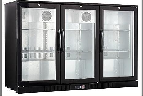 54u0026quot; Wide 3-door Back Bar Beverage Cooler & Amazon.com: 54