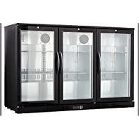 54 Wide 3-door Back Bar Beverage Cooler