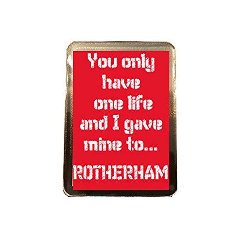 fan products of Rotherham United F.C - One Life Fridge Magnet