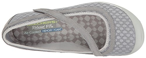 Skechers Earth Fest- Outside Femmes US 8 Gris Mary Janes