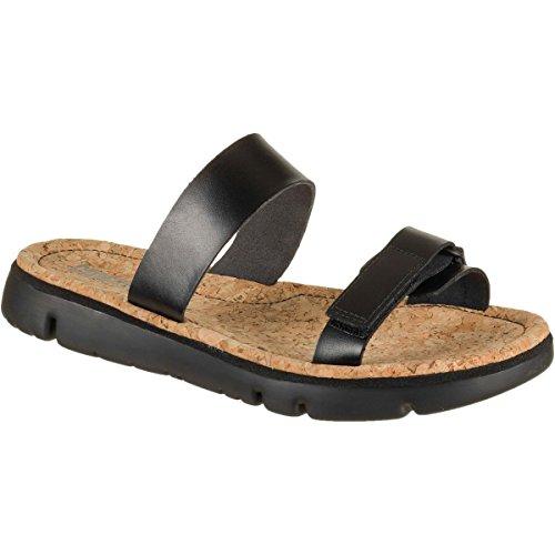 Camper Women's Oruga K200158 Slide Sandal, Black, 40 EU/10 M US