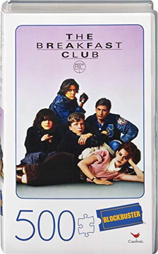 Spin Master Games 500-Piece Puzzle in Plastic Retro Blockbuster VHS Video Case, The Breakfast Club