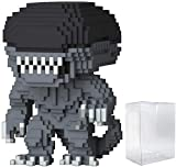 Funko 8-Bit Pop! Horror: Alien - Xenomorph Vinyl Figure (Includes Compatible Pop Box Protector Case)