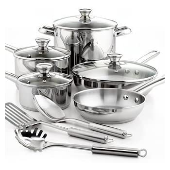 Amazon Com Tools Of The Trade Classic Cookware 12 Piece