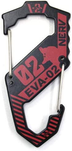 EVANGELION エヴァ2号機 カラビナS型/BLACK