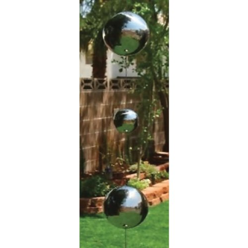24 Asstd Multi Color Galaxy Home Decor Sphere Glass Ornament With Gazing Chains by G W Schleidt