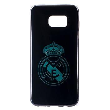 Real Madrid Carcasa Oficial Negro Escudo Azul Samsung Galaxy ...