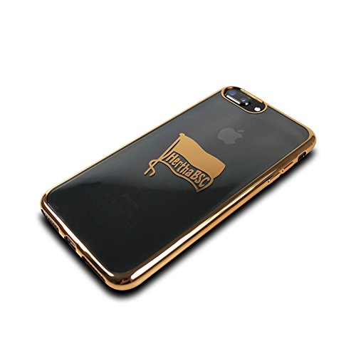 Hertha BSC Pro Case - Mittelstürmer - iPhone 8 Plus, iPhone 7 Plus und iPhone 6 Plus Hülle Gold