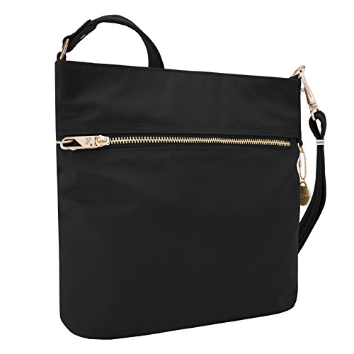 Bag theft Women's Travelon Slim s Tailored Onyx Anti N Body Cross HzHrwZfqc