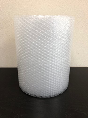 "Bubble Cushioning Wrap Rolls, 3/16"" x 12"" x 40' ft Total, Perforated Every 12"" for Packaging, Shipping, Mailing"