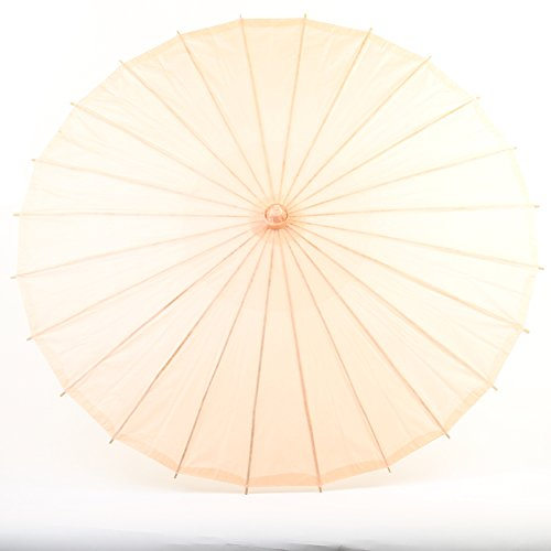 Koyal Wholesale 32-Inch Paper Parasol, Umbrella for Wedding, Bridesmaids, Party Favors, Summer Sun Shade (1, (Celebrity Costumes For Halloween 2016)