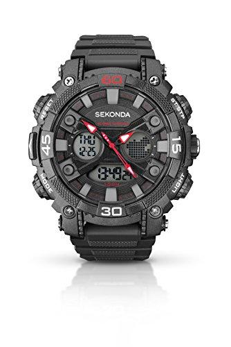 Mens Sekonda Alarm Chronograph Watch 1036