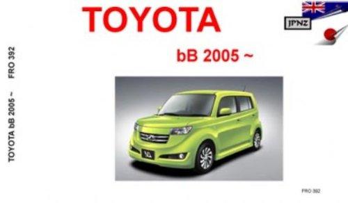 Download Toyota BB 2005 Owners Handbook ebook