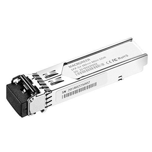 Macroreer 4pcs Packing for Juniper EX-SFP-1GE-SX SFP 1000BASE-SX Module Transceiver 850nm 550m