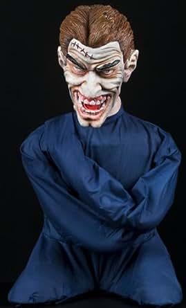 Amazon.com: Halloween Horror Scary Insane Inmate Straight