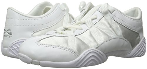 Nfinity Adult Evolution Cheer Shoes, White, 8.5 by Nfinity (Image #6)