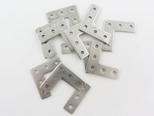 Makerbeam Openbeam Right Angle Bracket (Pack of 12pcs) Designed for MakerBeam (10x10mm in Diameter).