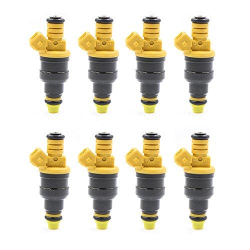 GooDeal 8pcs Fuel Injectors 0280150943 for Ford 4.6 5.0 5.4 5.8