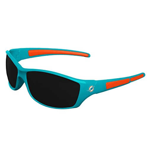 - FOCO NFL Miami Dolphins Sports Fan Sunglasses, Team Color, One Size