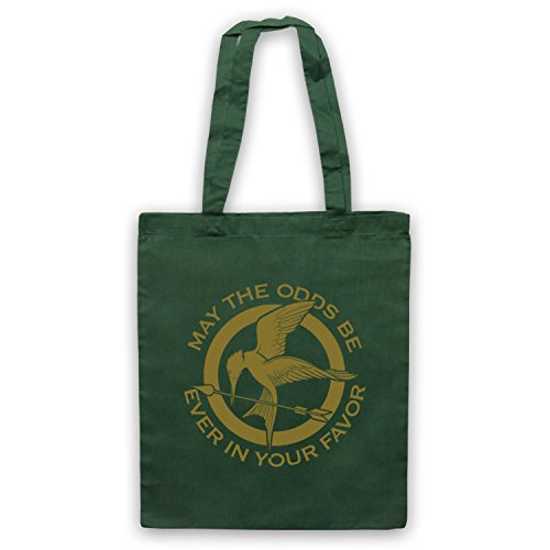 Hunger Games Odds Ever In Your Favor Bolso Verde Oscuro