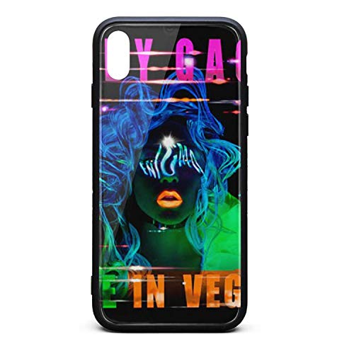 Phone case for iPhone x/xs/xs max Fashion Shock Absorption TPC Tempered Glass Essential Portable pop Cover Case ()