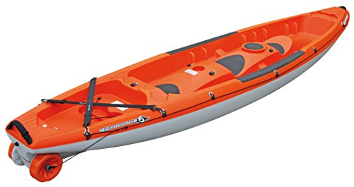 BIC Sport Borneo Kayak, Orange/White, 13-Feet 5-Inch x 33-Inch