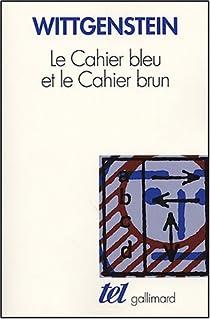"""Résultat de recherche d'images pour """"Cahier bleu wittgenstein"""""""