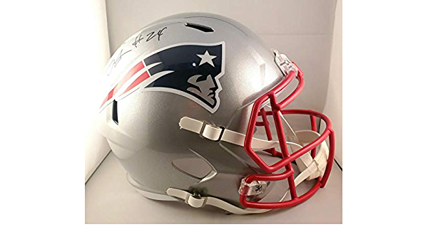 Stephon Gilmore New England Patriots Signed Autograph Full Size Helmet JSA Certified