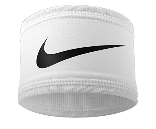 Nike Speed Performance Armbands (1 Pair, One Size Fits Most, White/Black) ()