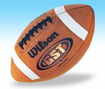 ウィルソン1003 GST Football NFHS/NCAAレザーFootball