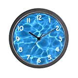 YiiHaanBuy Aqua Blue Swimming Pool - Unique Decorative 12in Wall Clock.